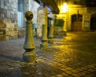 photo couleur de la rue Amiral de la grandiere à quimper